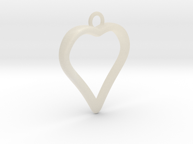 Heart 001 3d printed
