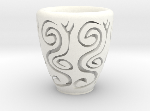 Orient coffee cup 3d printed