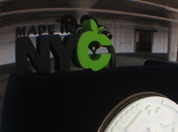 Made in NYC Logo 3d printed
