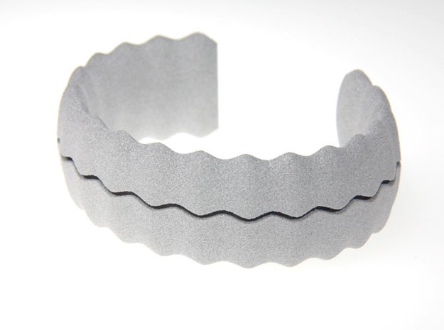 sea shell bracelet 3d printed