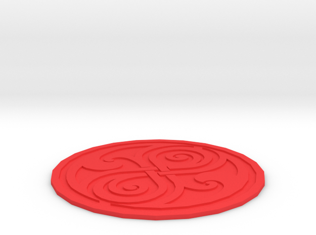 Seal of Rassy 3d printed