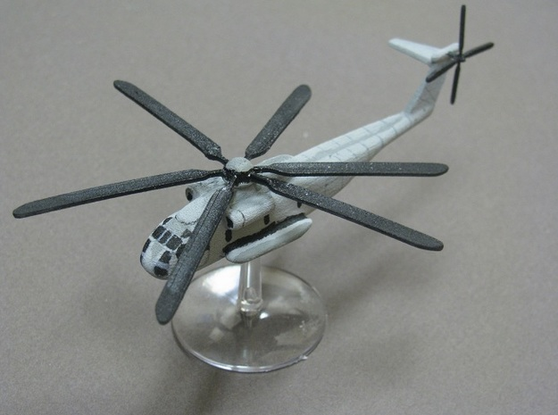 1/285 Scale CH-53 Sea Stallion 3d printed