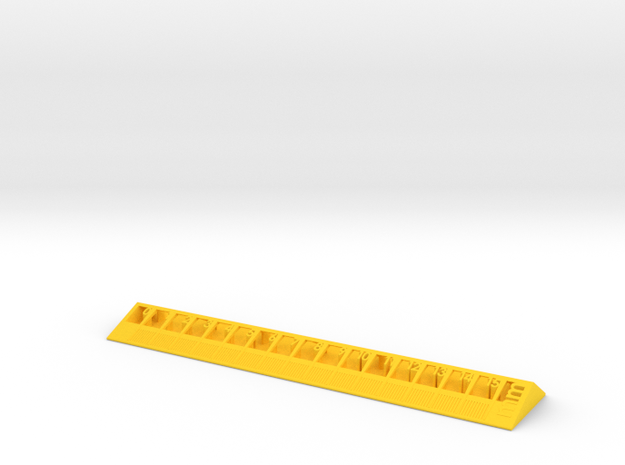 Too cool for school -Ruler 15cm/6inch 3d printed