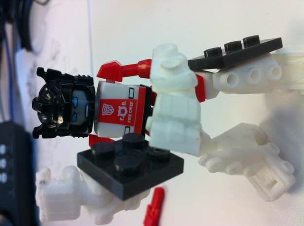 Kreon upgrade - Basic Kit 3d printed compatible with other brick parts