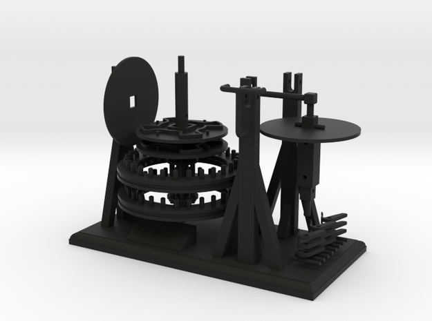 Leonardo da Vinci's Reciprocating Motion Machine 3d printed