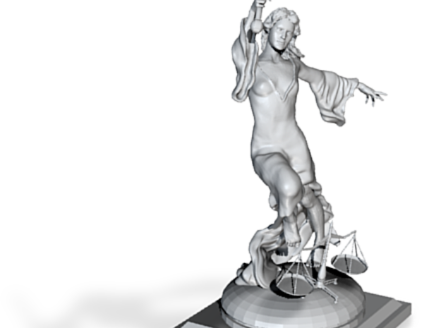 Justice Statue (large) 3d printed