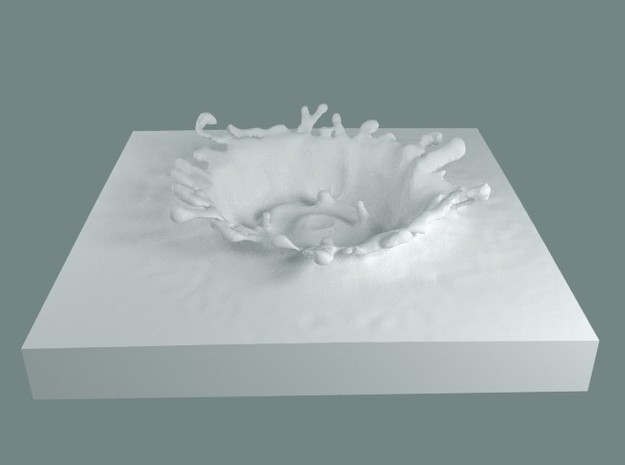 WATER SPLASH 10 3d printed