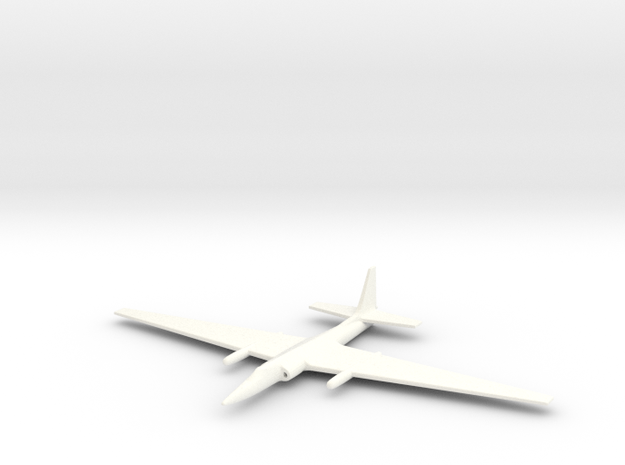 1/285 (6mm) TR-1 (U-2) Spy Plane 3d printed