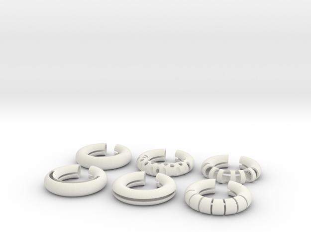 Wine Rings 20|7 3d printed