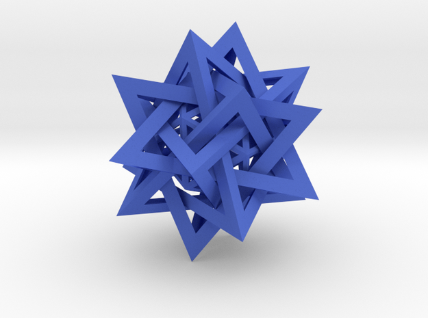 Five Tetrahedra Plus 3d printed
