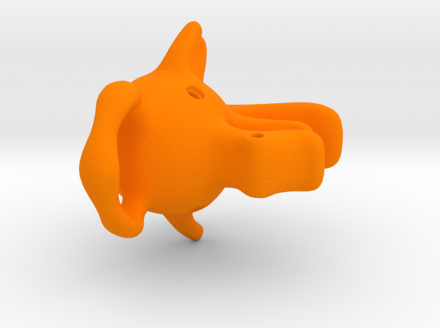 Dragoelephant Figurine 3d printed
