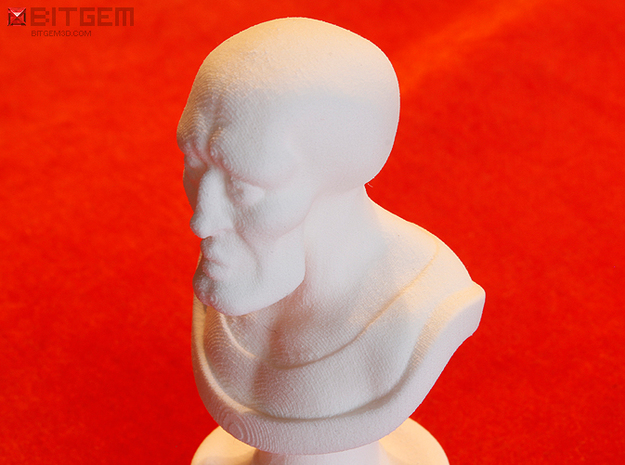 Beautiful Squidward Award 3d printed