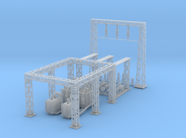 Electric Sub Station Z Scale Revised
