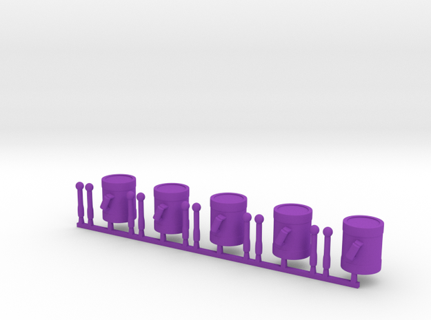 5 x Drums 3d printed