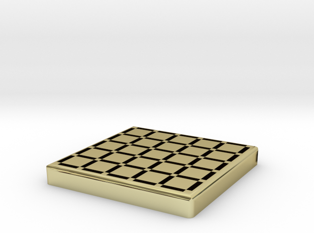 Dots And Boxes Game To Fit Scrabble Tiles Vaulted 3d printed