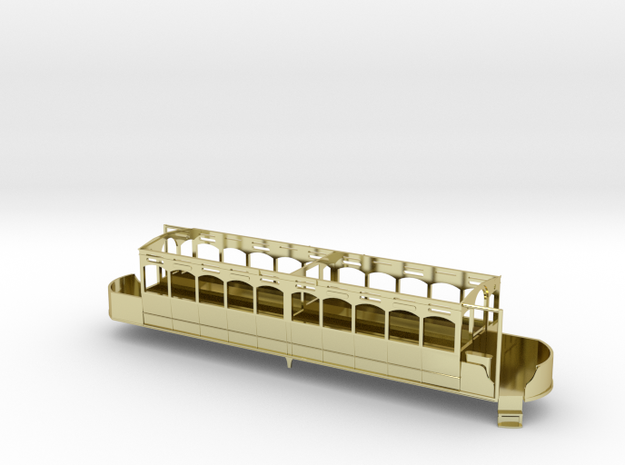 Lancaster Palace Lower Deck Unmodified 3d printed