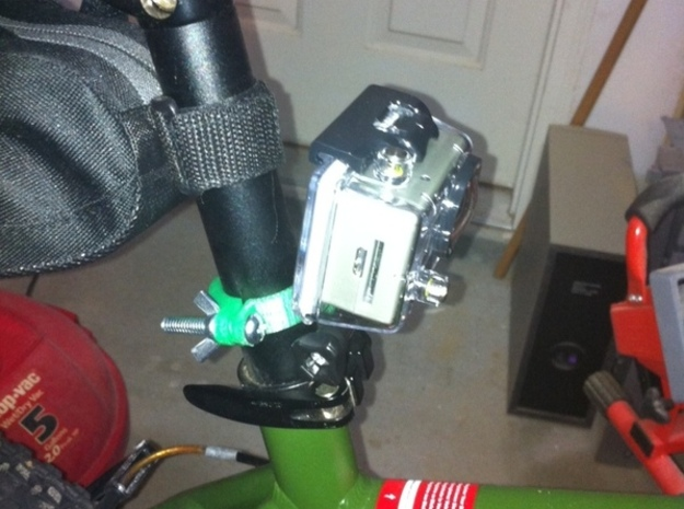 GoPro Seat Post Mount 3d printed