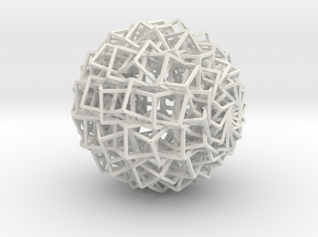 Cube Ball Ornament 1.1 3d printed