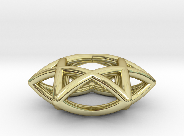 Star Of David Pendant 3d printed