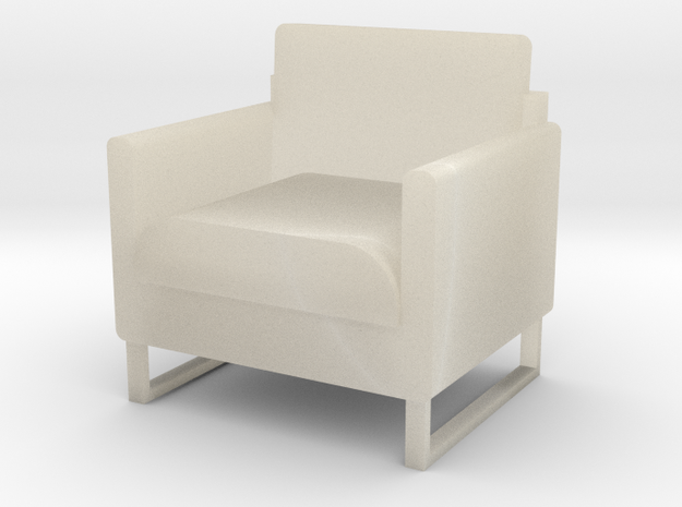 "1/2"" scale Arm Chair 3d printed"