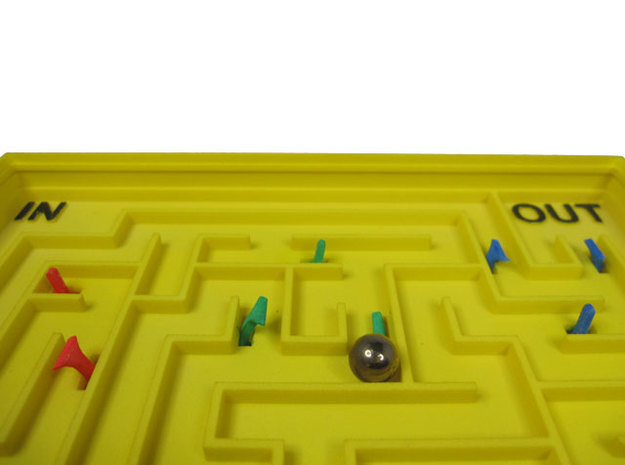 Switched Maze 3d printed