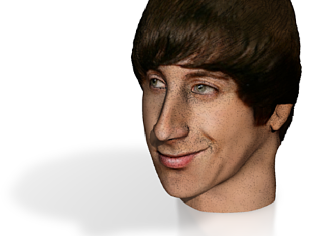 Howard Wolowitz 1/6 scale color 3d printed