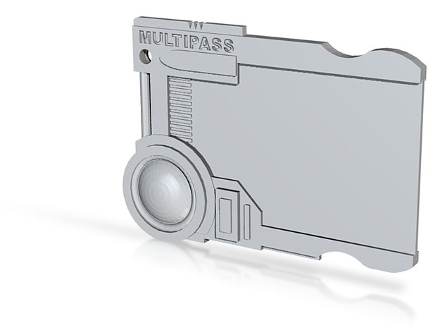 Multipass From Fifth Element #props 3d printed