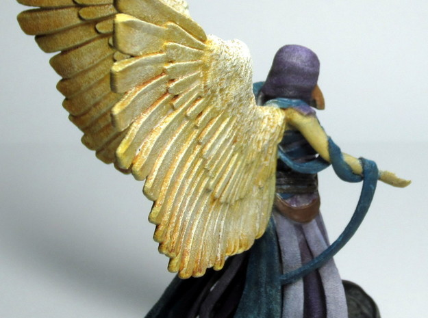 Giver of Mercy 3d printed Side - Painted