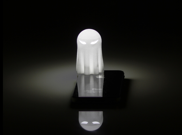 Lightclip: ninja Ghost, iPhone 5/5s 3d printed