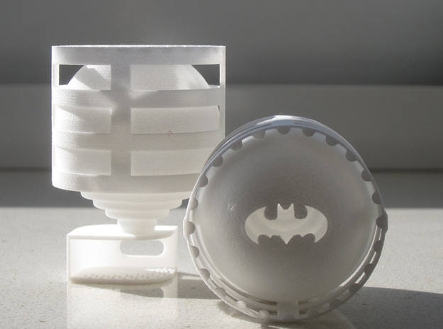 Lightclip: Batman, iPhone 5/5s 3d printed