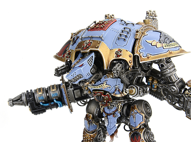 Iron Wolf head compatible w/ Imperial Knight Titan