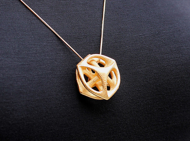 Key of Time Pendant (#1674) 3d printed