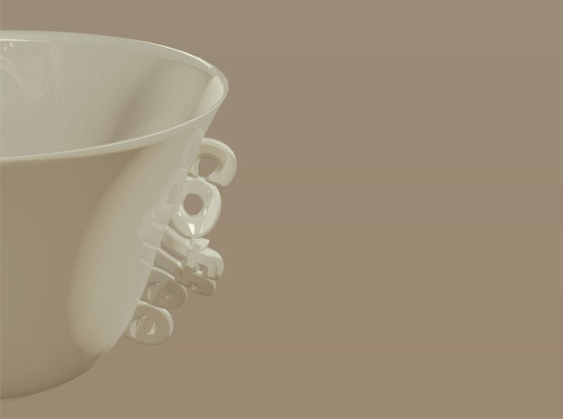 COFFEE-CUP 3d printed