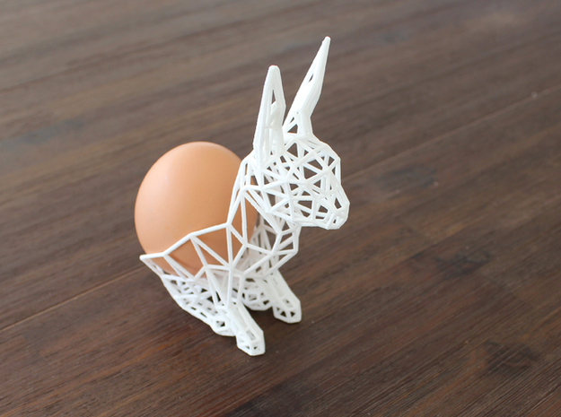 Easter Bunny 3d printed
