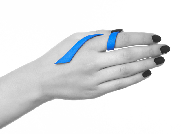 Kimberly Ovitz - Squama Ring 3d printed