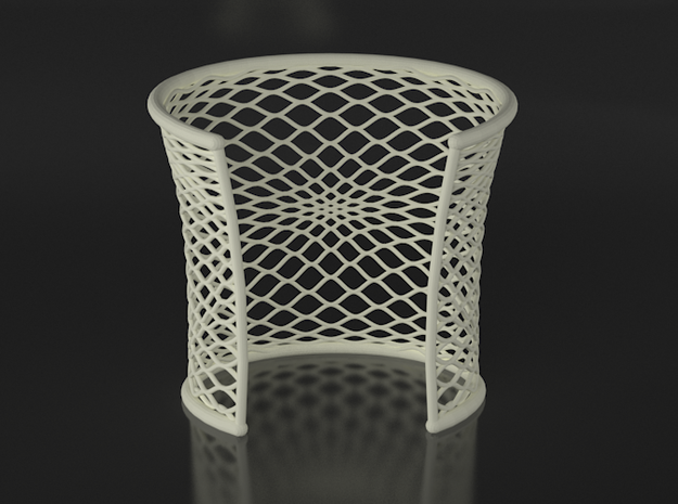 Woven Cuff - Large 3d printed VRay Render