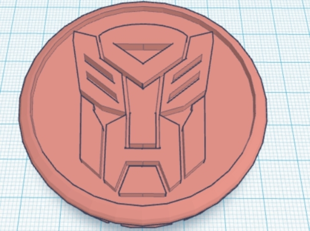 4 X Toyota Prius G3 Wheel Center Cap - Autobot 3d printed