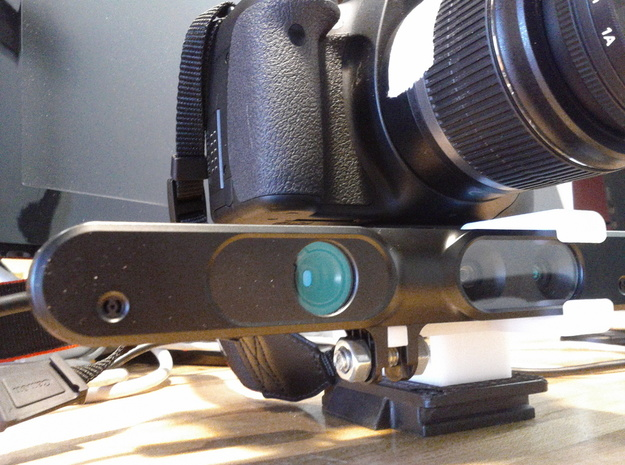 DSLR+Asus Mount for tripod | RGBDToolkit 3d printed