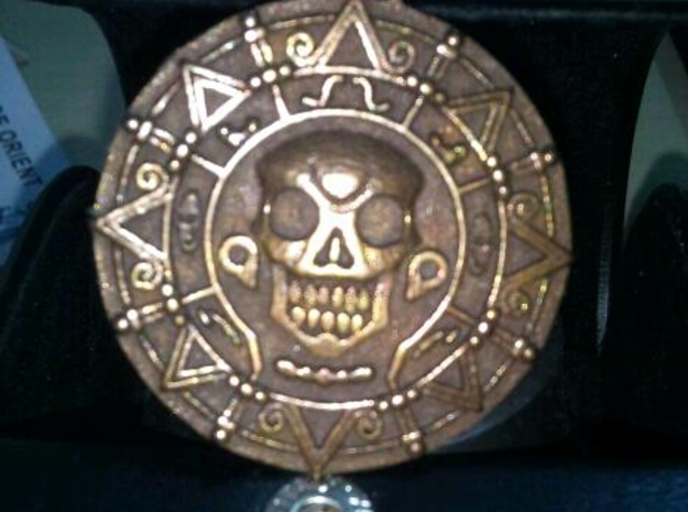Pirates of Caribbean - pendant / necklace 3d printed real item