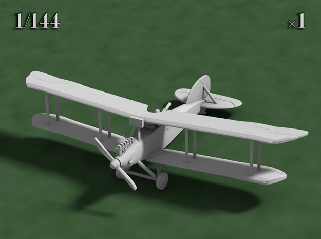 1/144 Albatros J.I 3d printed Blender Model