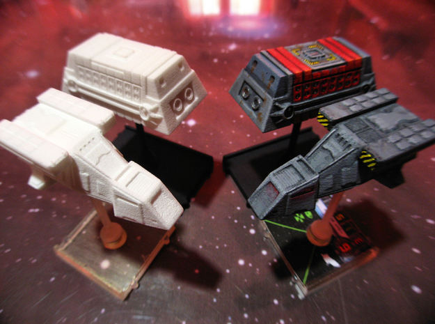 2x DX9 Stormtrooper Transport 3d printed Printed and painted