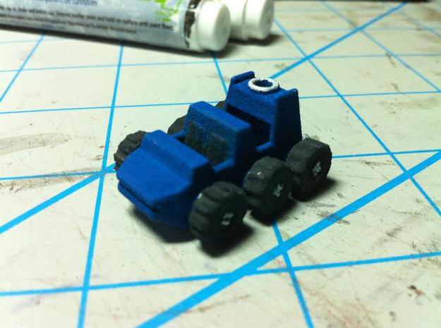 Legends Scale Roller 3d printed printed in WSF