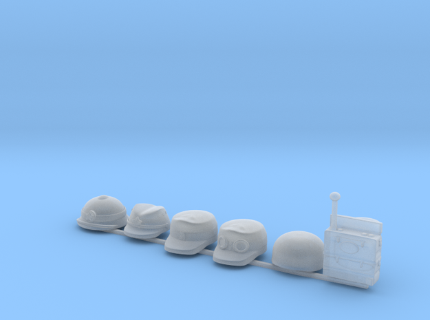 6 x Customer specific R 3d printed