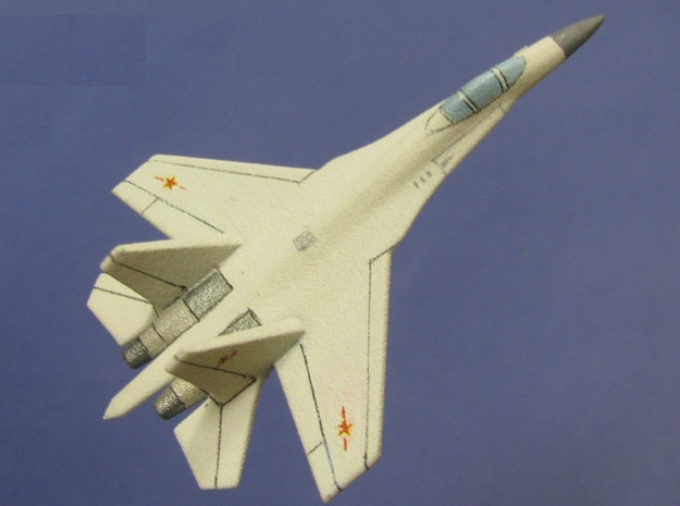 1/285 (6mm) Chinese J-11 3d printed