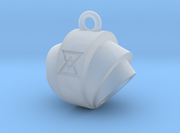 Pendant- Runestone Large- Holder 3d printed