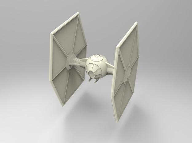 Star Wars:Tie-Fighter (50mm) 3d printed