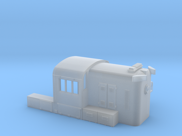 N scale WM RS3 hammerhead 3d printed