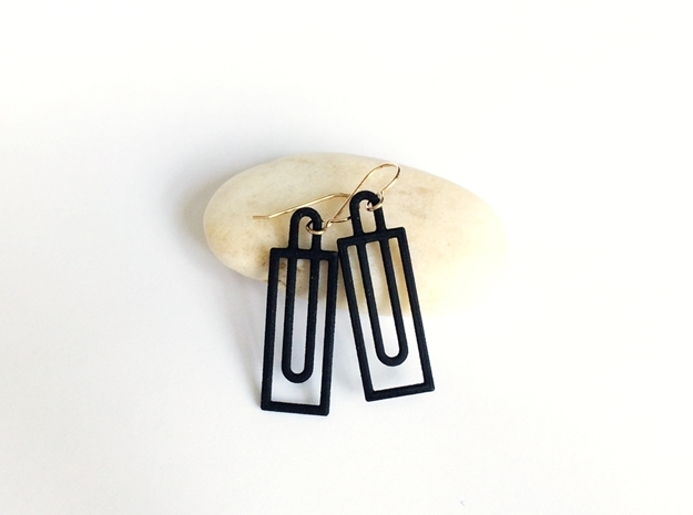 Simple Geometry - Modern Earrings with Clean Lines