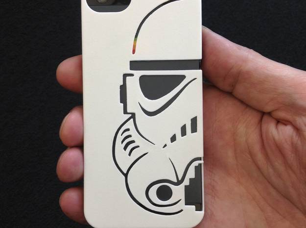 Stormtrooper Iphone 5 case 3d printed Great pictures from duann