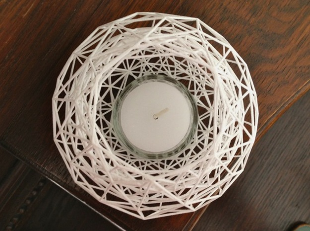 Net - Tea Light 3d printed